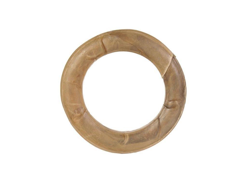 Kroužek velký z buvolí kůže 175g/15cm