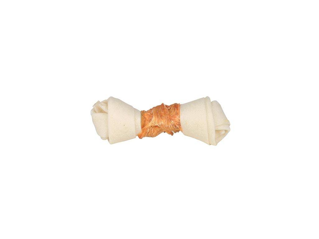 DENTAfun-uzel svázaný kuřecím masem 11-12cm/40g