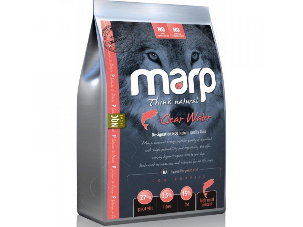 Marp Natural Clear Water - lososové  + Dárek 300g hovězí masové paté ZDARMA