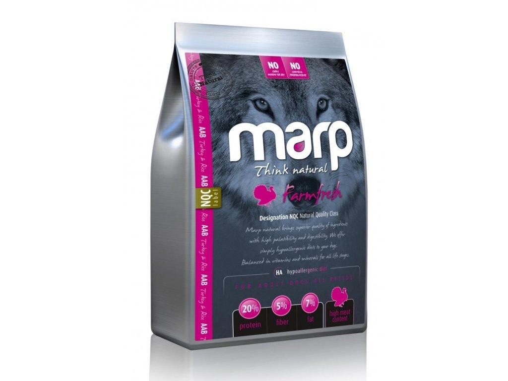 MARP NATURAL-FARMFRESH krůtí 2kg  kvalitní holistické krmivo pro psy