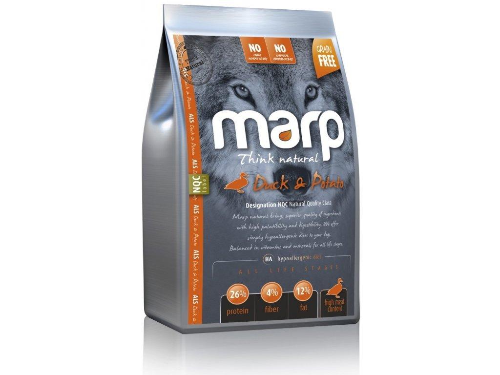 MARP NATURAL-FARMLAND kachní 2kg  kvalitní holistické krmivo pro psy