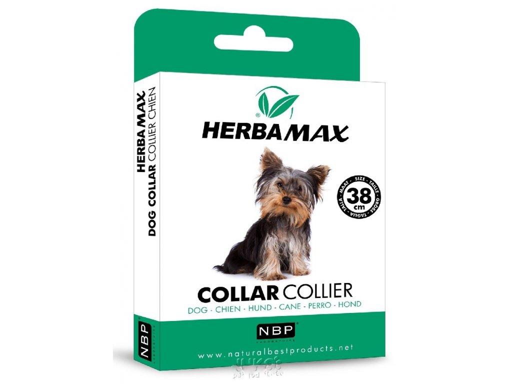 Herba Max Dog collar 38cm antiparazitní obojek