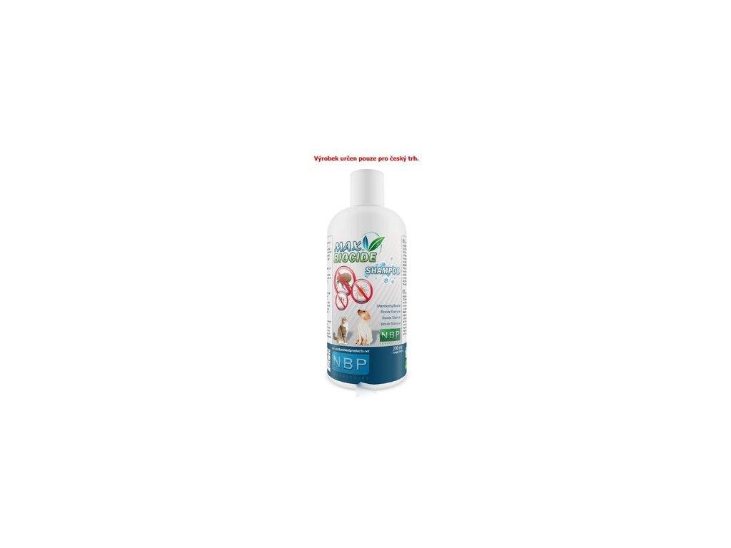 Max Biocide Shampoo 200ml antipar. šampón
