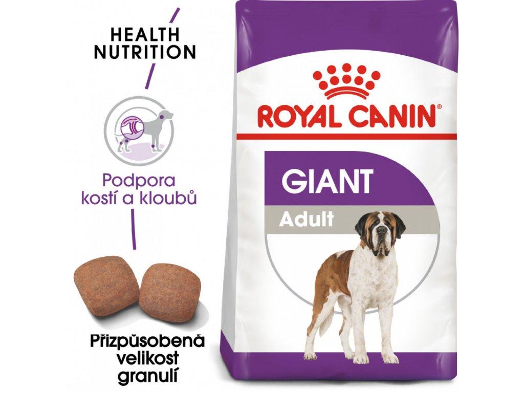 ROYAL CANIN Giant Adult 15kg  Giant Adult granule pro dospělé obří psy