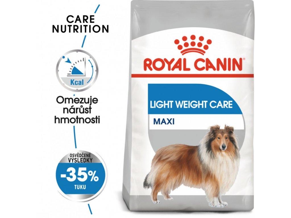 ROYAL CANIN MAXI LIGHT  dietní granule pro velké psy