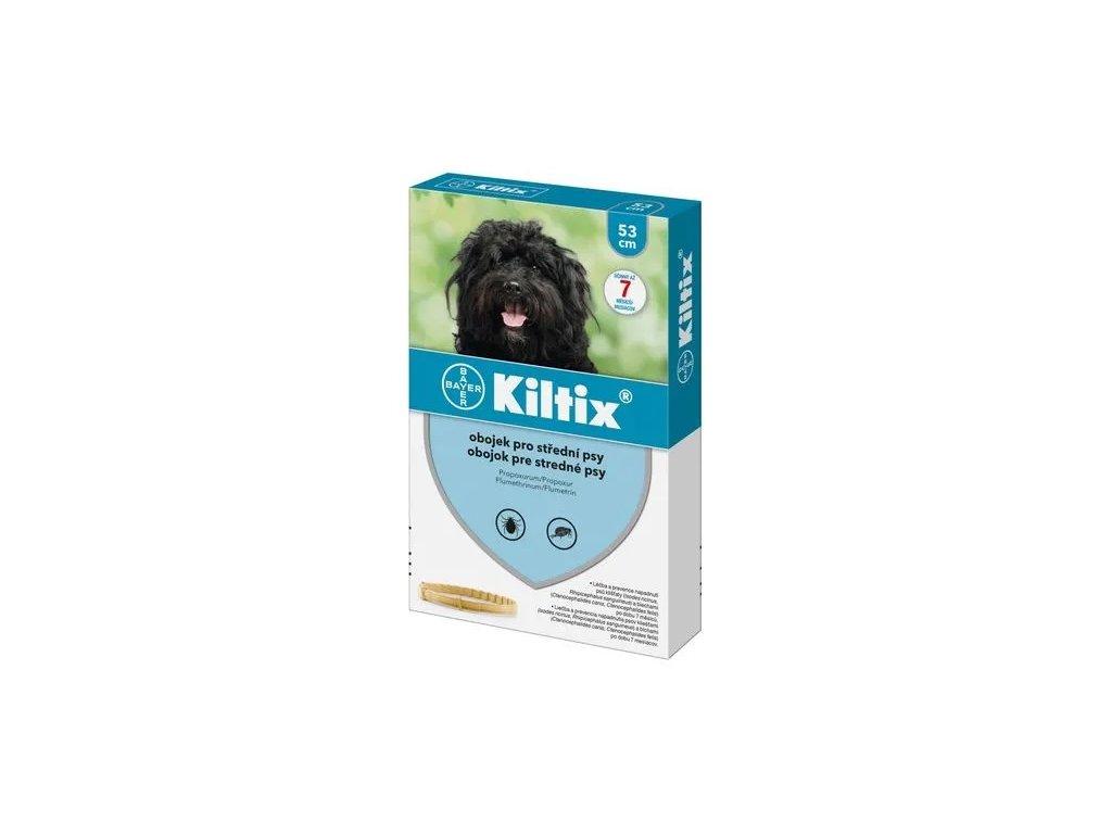 KILTIX antiparazitní obojek pro psy 53 cm