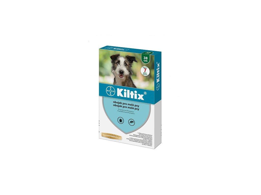 KILTIX antiparazitní obojek pro psy 38 cm