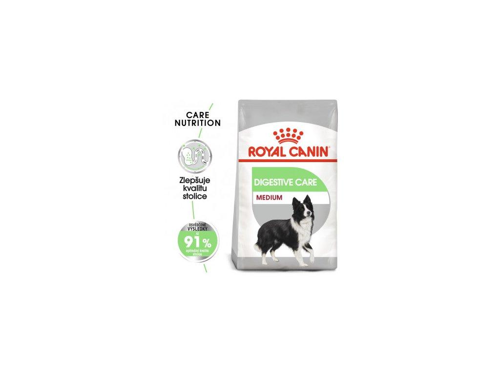 Royal Canin Medium Digestive Care 10 KG - granule pro velké psy s citlivým trávením