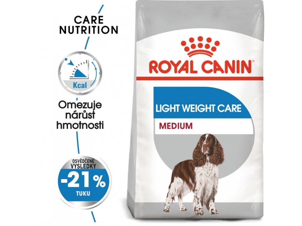 ROYAL CANIN Medium Light Weight Care  dietní granule pro střední psy