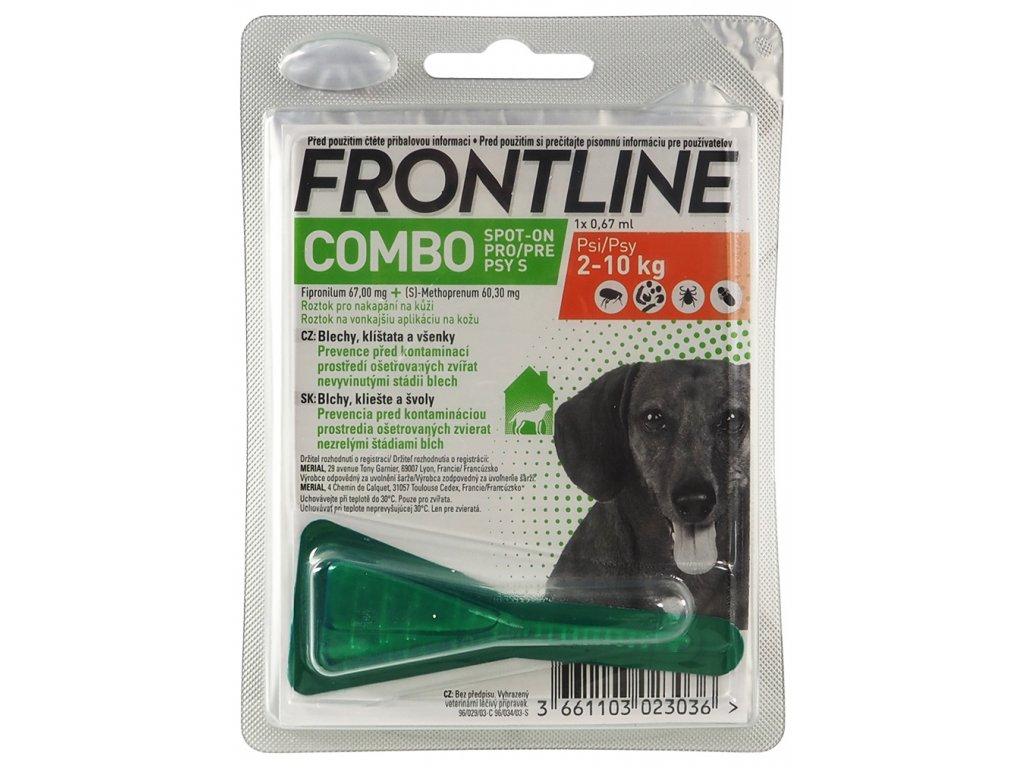 FRONTLINE Spot On Dog S (2-10kg) 1x0,67ml