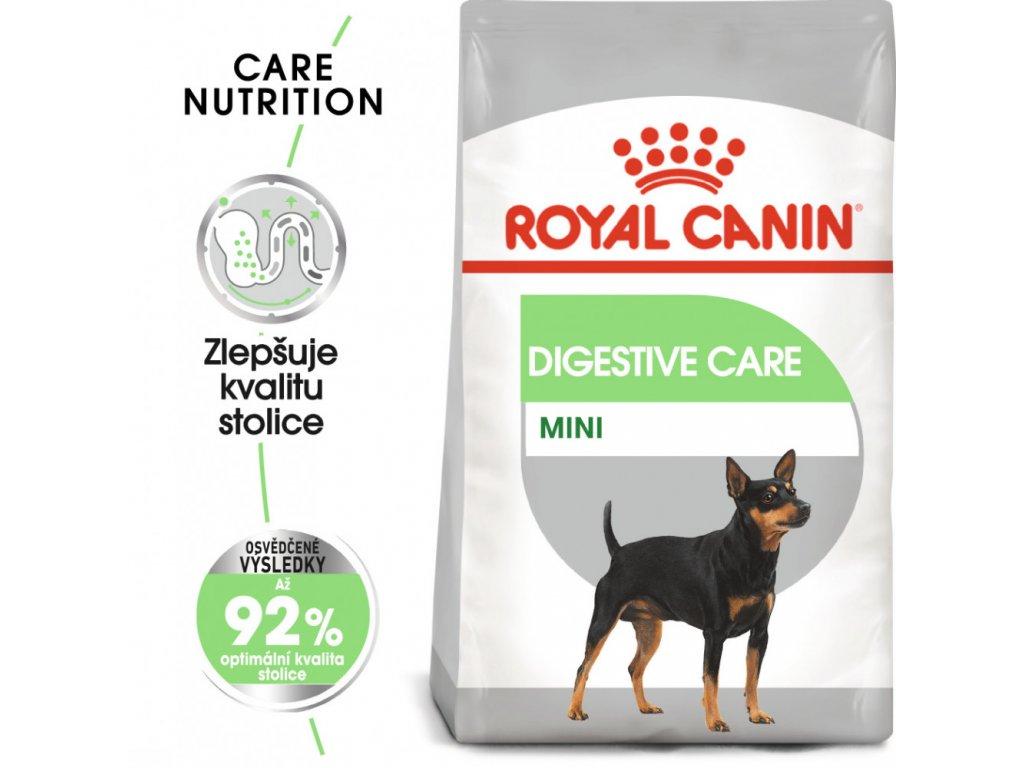 Royal Canin Mini Digestive Care granule pro malé psy s citlivým trávením  Royal Canin Mini Digestive Care granule pro malé psy s citlivým trávením