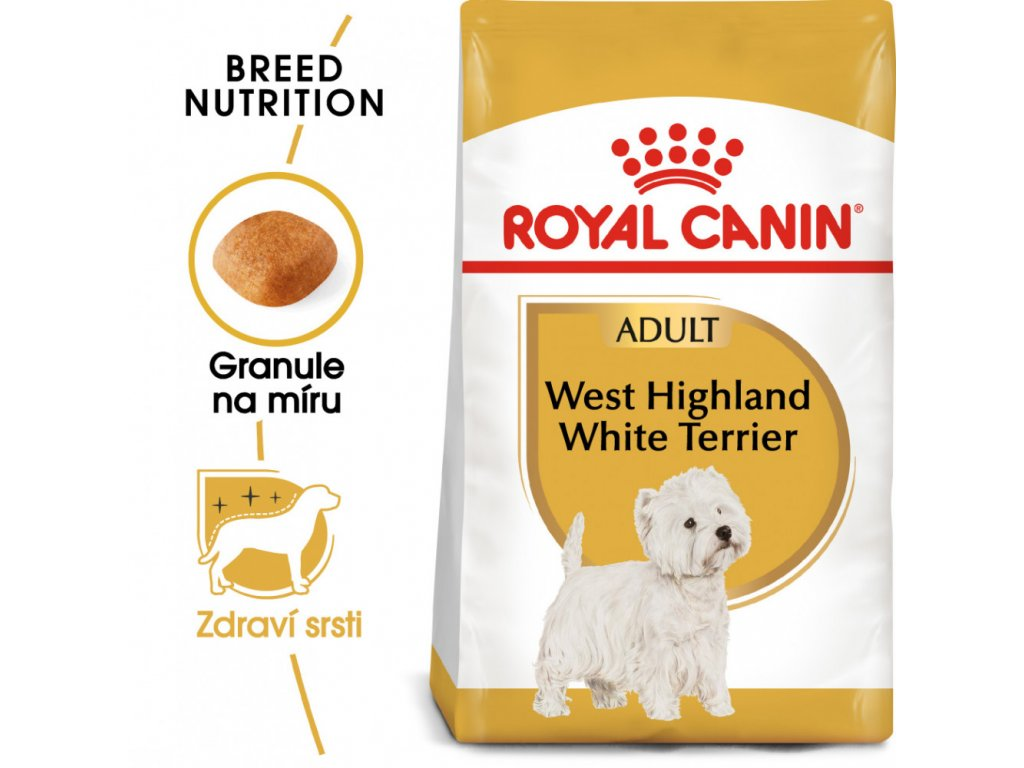ROYAL CANIN Westie Adult granule pro dospělého westíka  granule pro dospělého westíka
