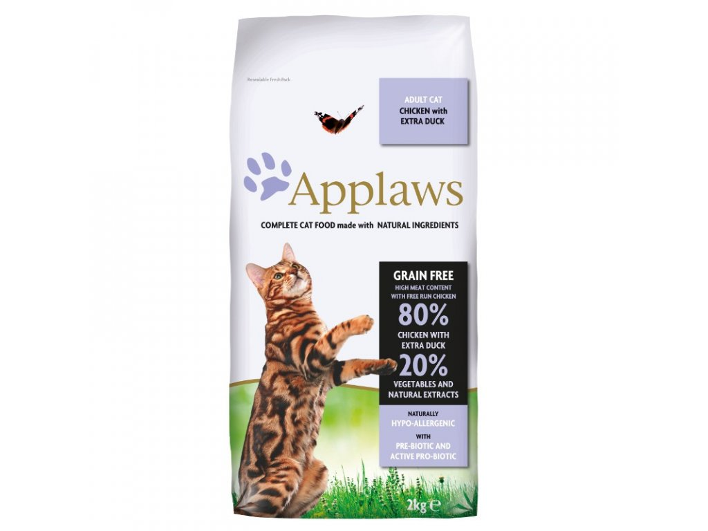 Applaws Adult Cat Chicken and Duck