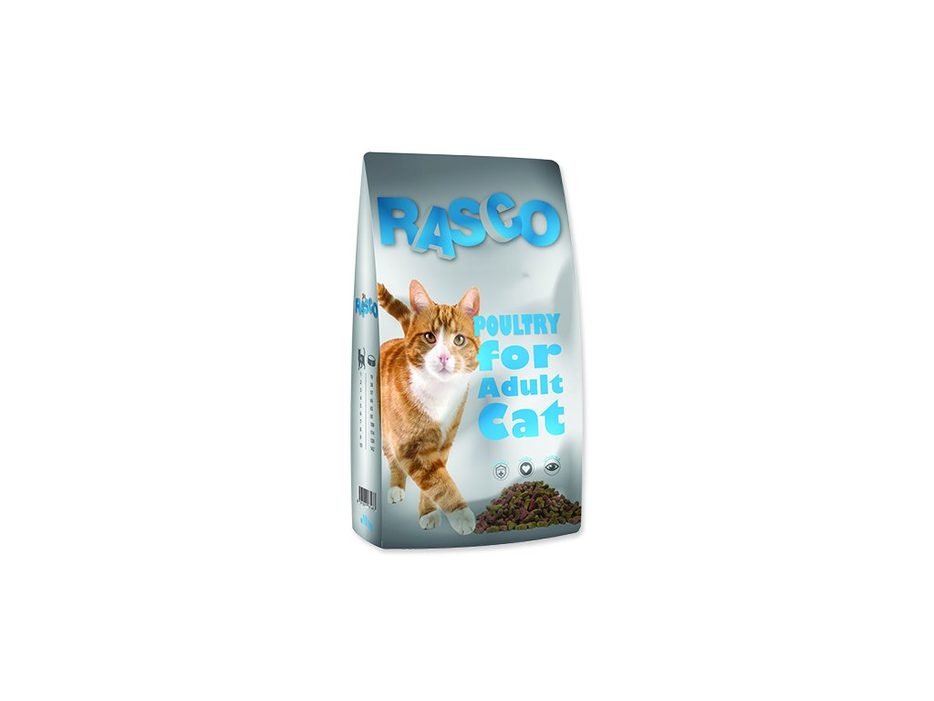 RASCO Cat drůbeží (10kg)