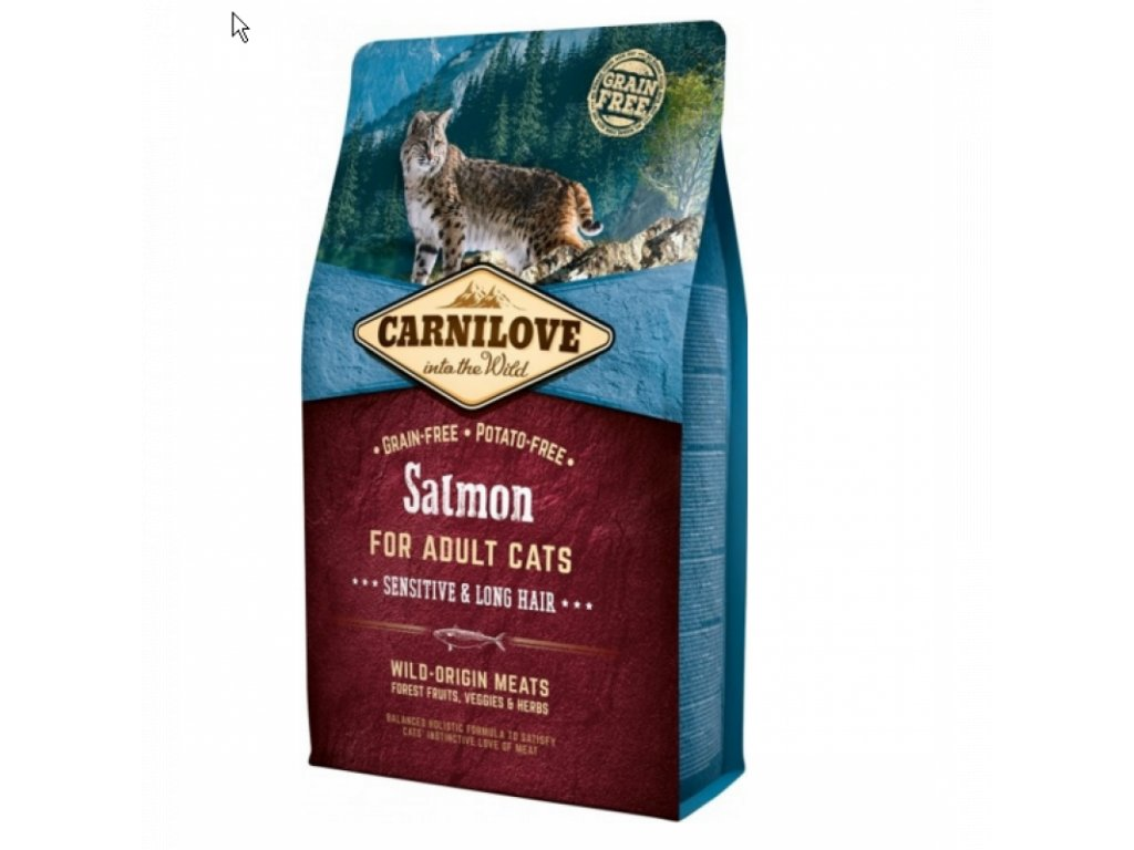 CARNILOVE Salmon Adult Cats Sensitive 2 KG