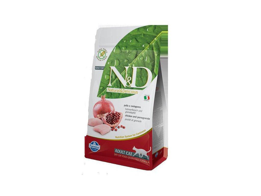 N&D PRIME CAT Adult Chicken & Pomegranate  sleva 2% při registraci