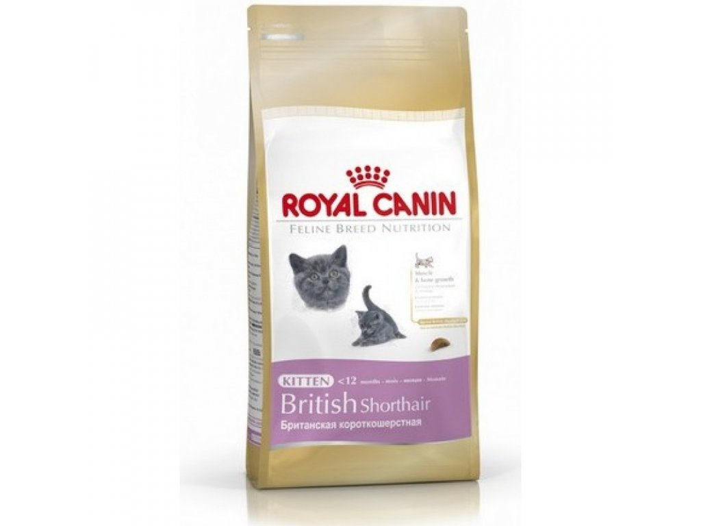 ROYAL CANIN KITTEN BRITISH SHORTHAIR 2KG