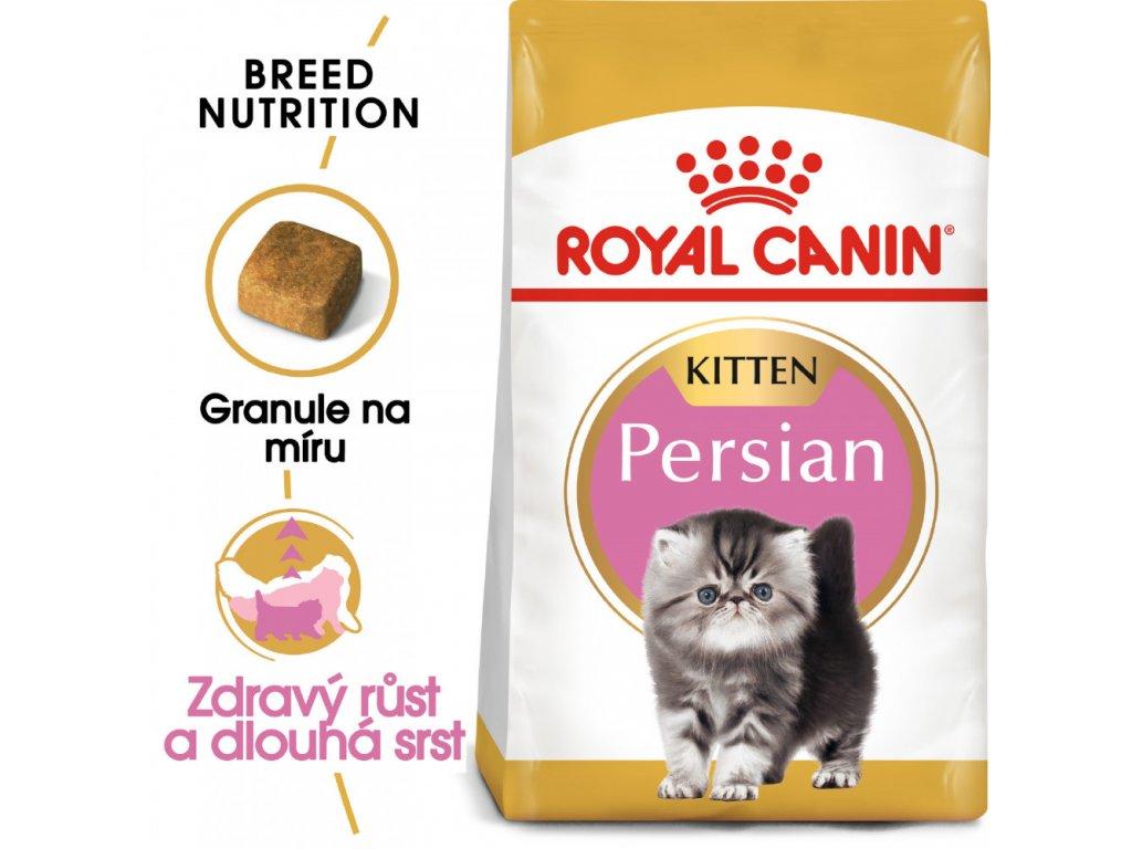 ROYAL CANIN Persian Kitten  Persian Kitten granule pro perská koťata