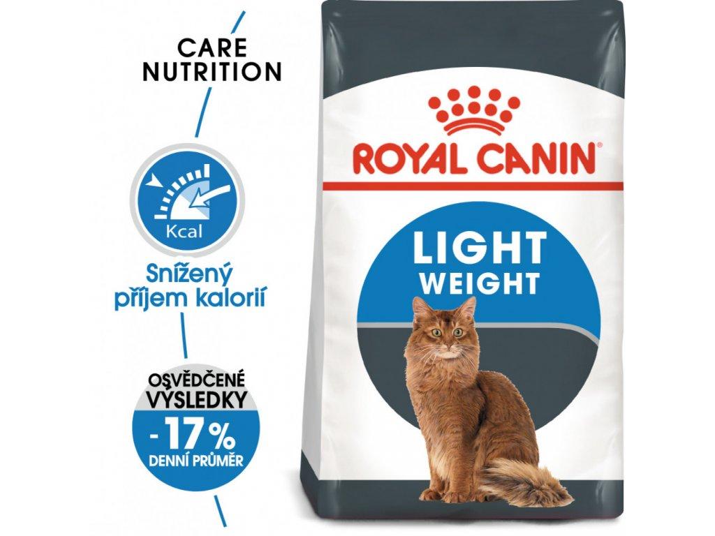 ROYAL CANIN Light Weight Care  -dietní granule pro kočky  dietní granule pro kočky