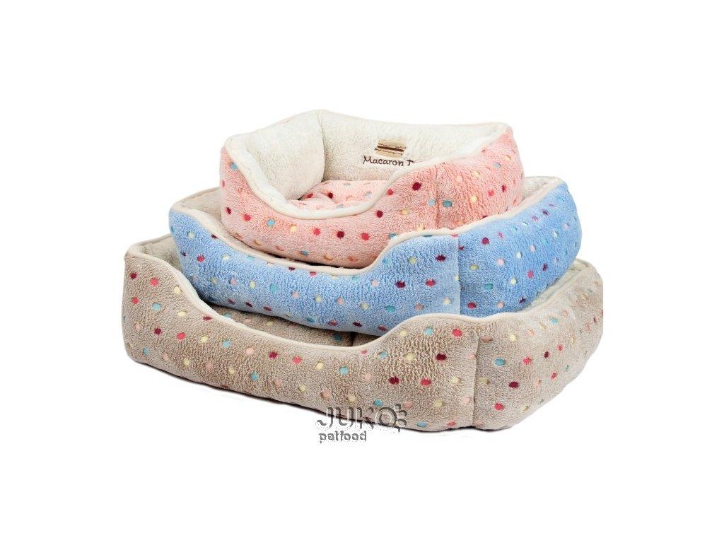 Pelíšek s puntíky Extra soft Bed XS 47cm