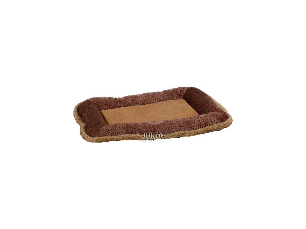 Pelíšek-polštář měkký plyš S 59cm
