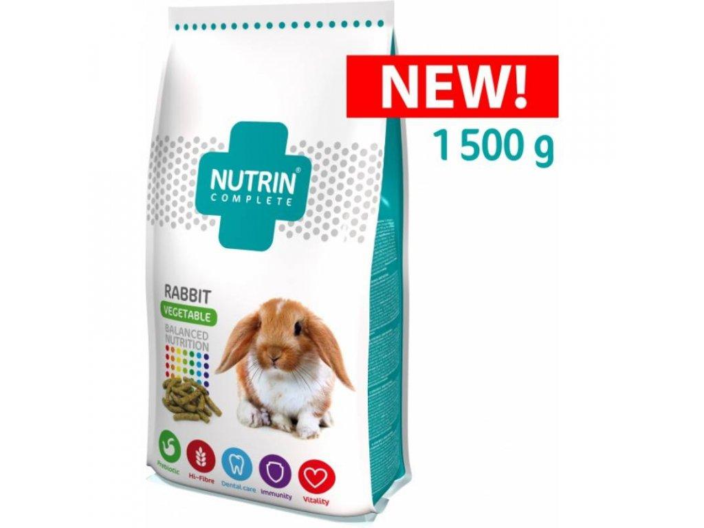 NUTRIN COMPLETE KRÁLÍK - VEGETABLE 1500G