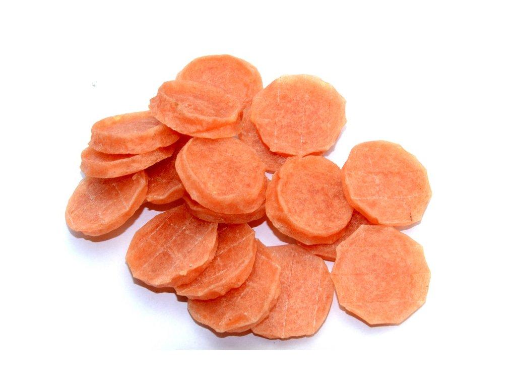 Kolečko kuřecí 250g  Masový pamlsek pro psy a kočky . Kachní maso 96,5%