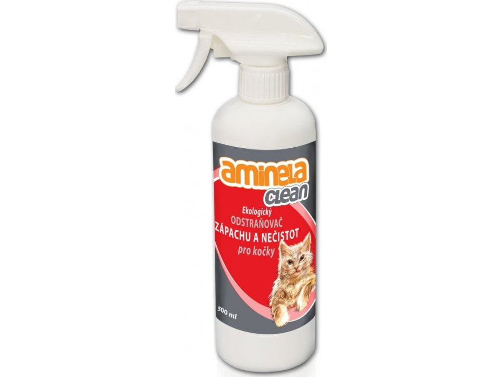 Aminela Clean Ekologický odstraňovač zápachu a nečistot pro kočky