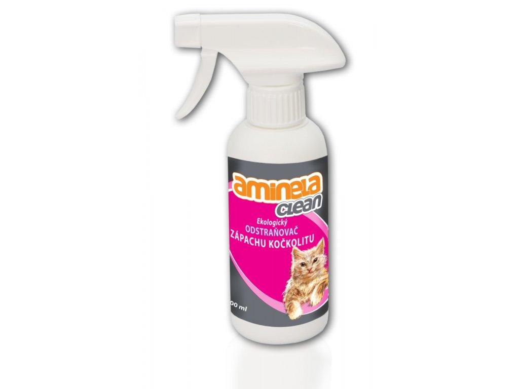 Aminela Clean Ekologický odstraňovač zápachu kočkolitu  při registraci sleva