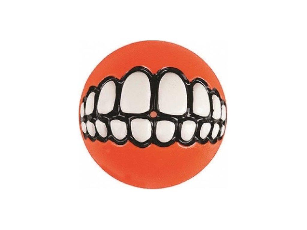 Hračka ROGZ Míček GRINZ oranžový M 6,4 cm  sleva 2% při registraci