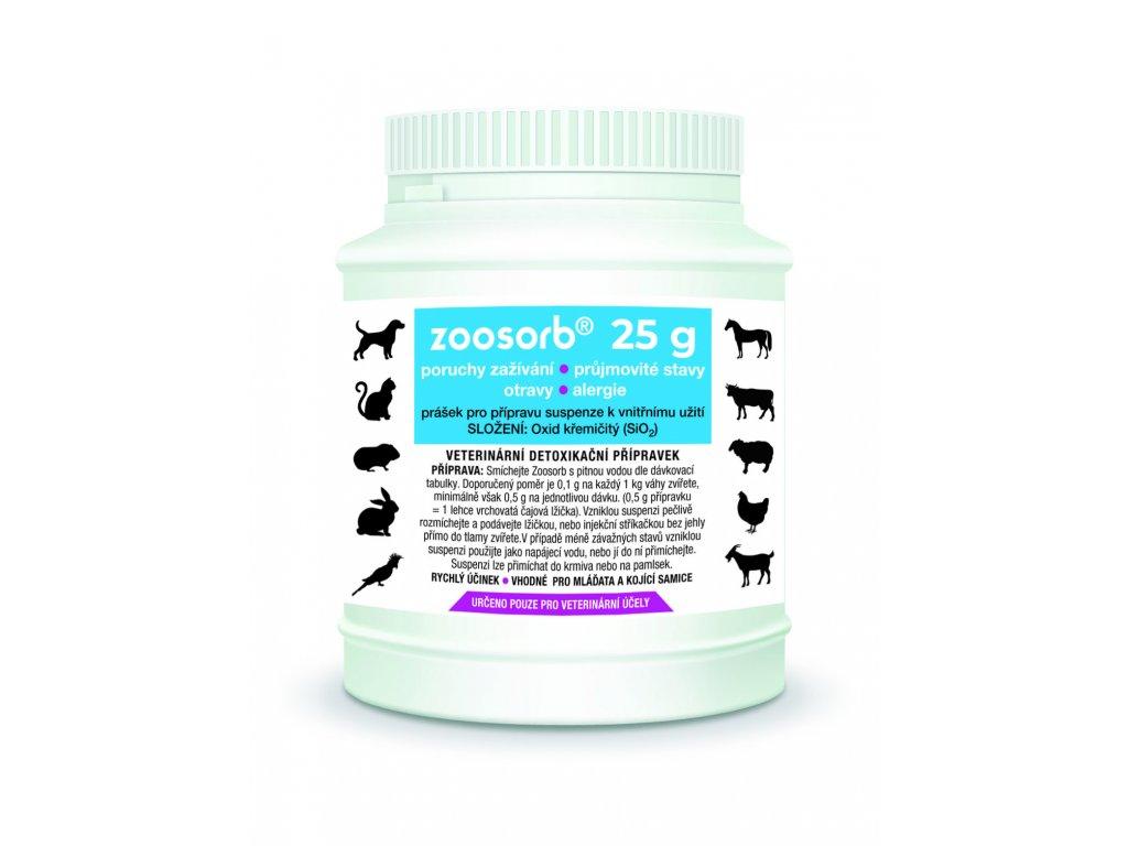 Lahvicka montaz Zoosorb 25 g