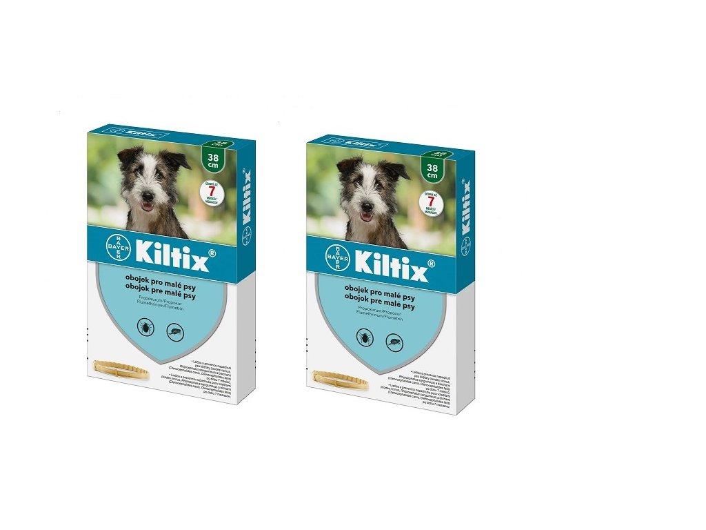 KILTIX antiparazitní obojek pro psy 38 cm (balení 2ks)  výhodné balení 2 kusů