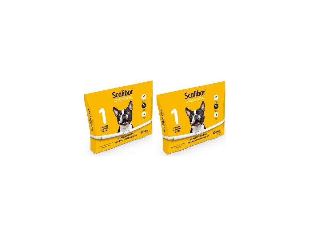 SCALIBOR antiparazitní obojek pro psy 48 cm (balení 2ks)  výhodné balení 2 kusů