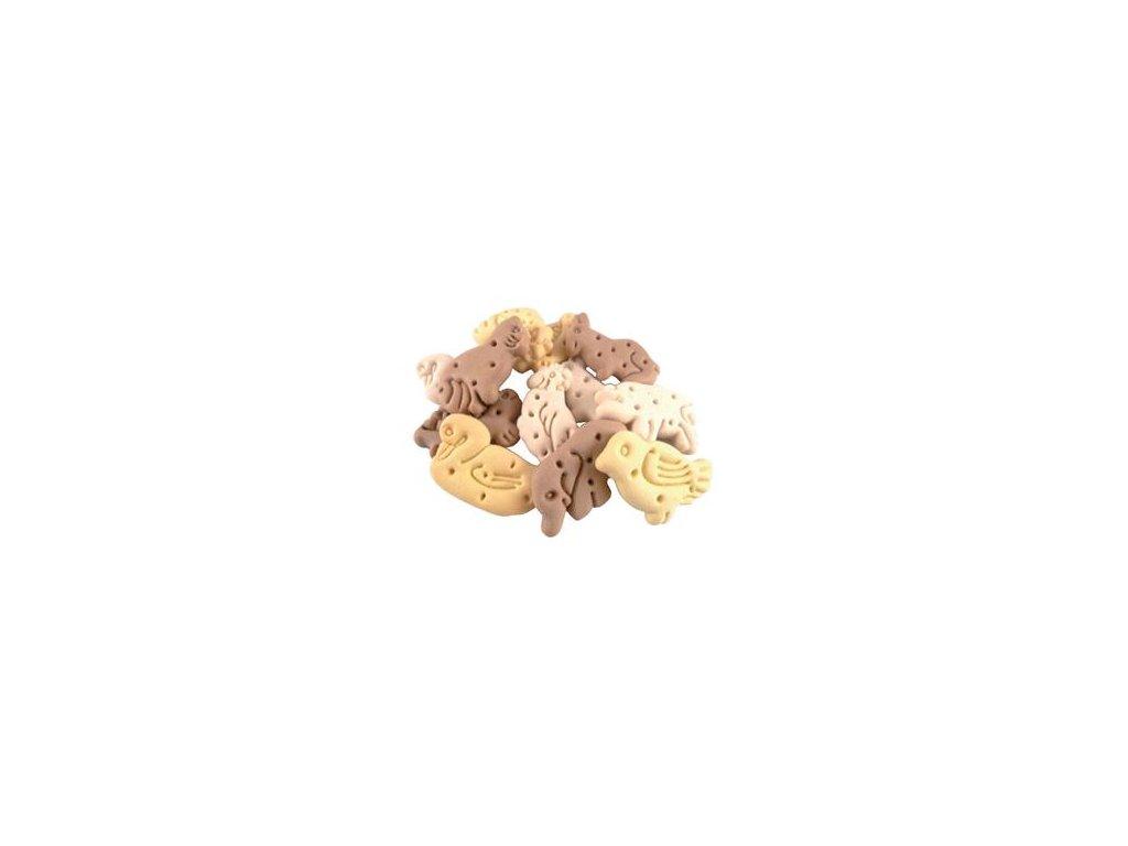 Vanilková křupavá zvířátka pro psy 200g  Křupavé sušenky pro psy
