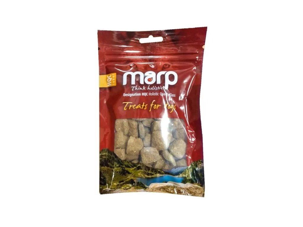 Marp Treats - funkční pamlsky s ostropestřcem 100g  100% přírodní pamlsek pro psy