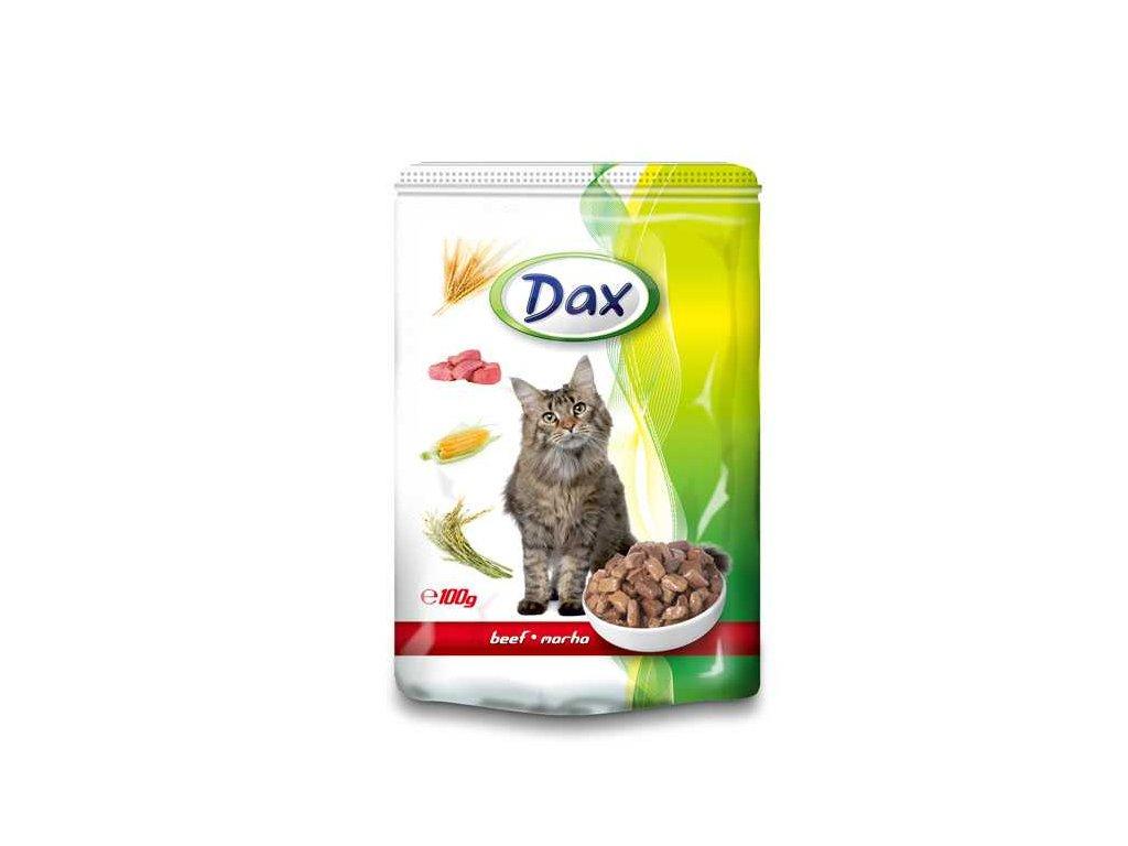 DAX kapsa CAT Hovězí 100g