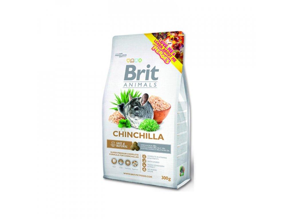 BRIT ANIMALS CHinchila Complete 300g