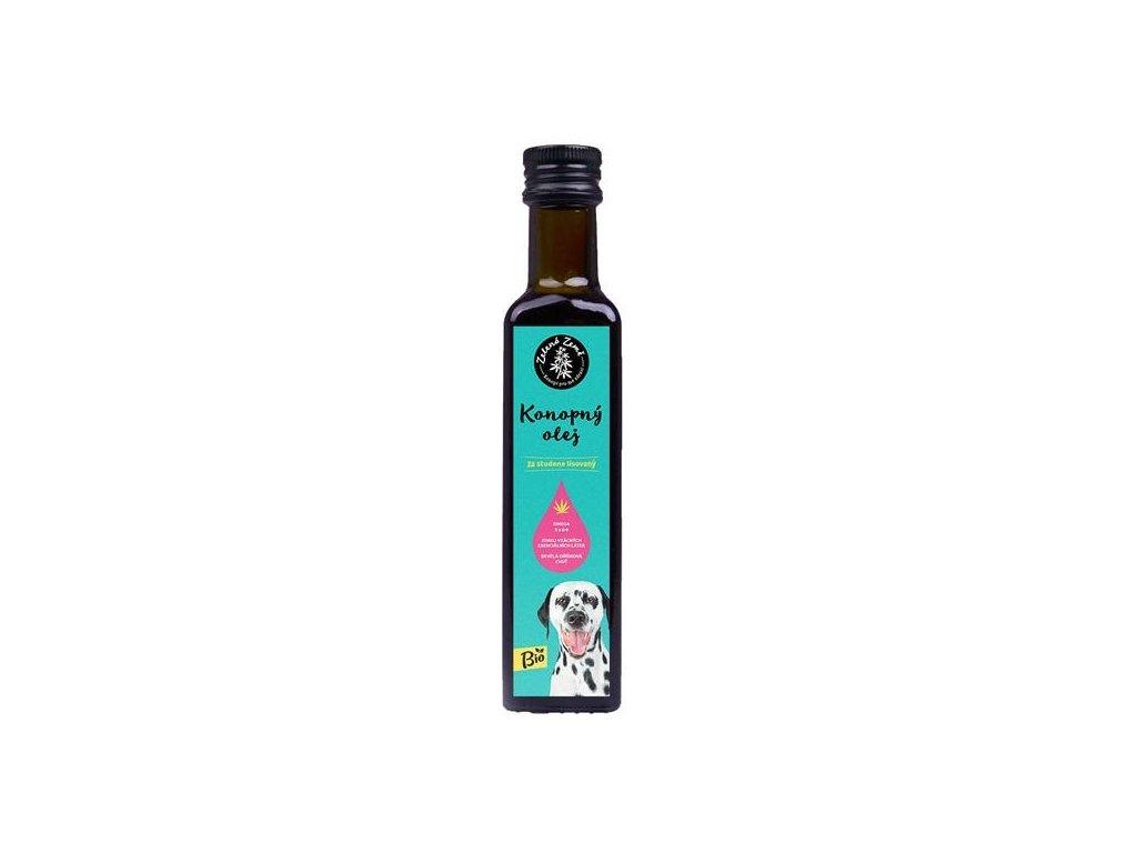 Konopný olej pro zvířata BIO 250ml