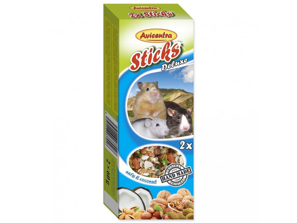 Avicentra Tyčinky pro malé hlodavce - Ořech + med + kokos 2ks