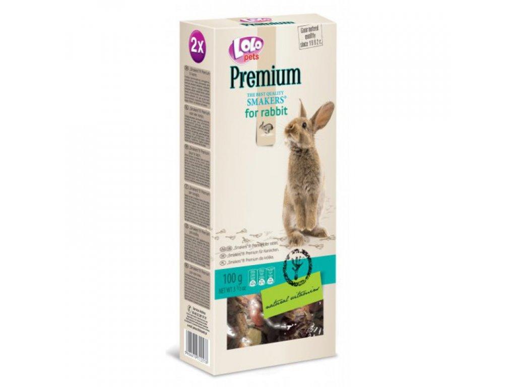 LOLO PREMIUM SMAKERS 2 klasy pro králíky 100g