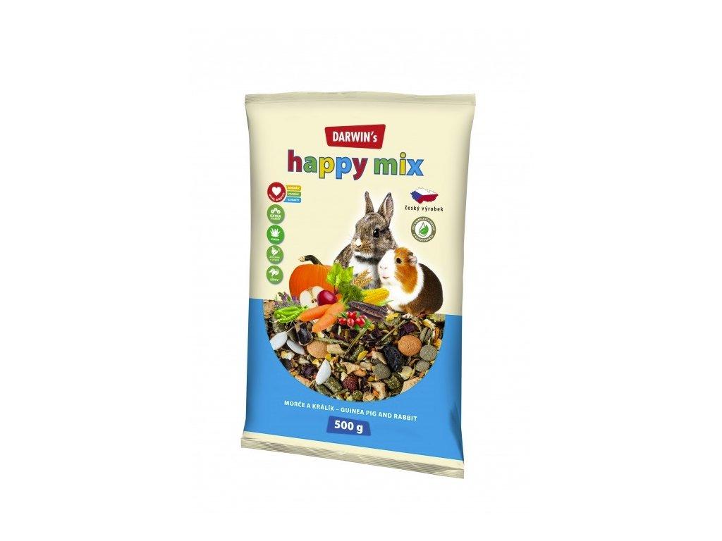 Darwin's Morče Králík Happy mix 500g  sleva 2% při registraci