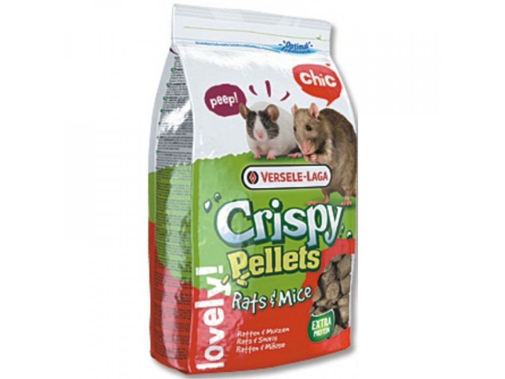VERSELE-LAGA Crispy Pellets pro činčily a osmáky 1kg