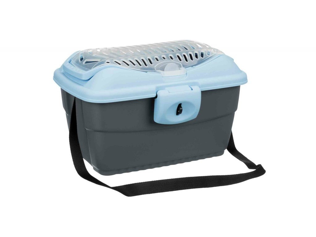 Transportní kufřík MINI CAPRI40x22x30cm max. do 2kg TRIXIE, - modro/šedá