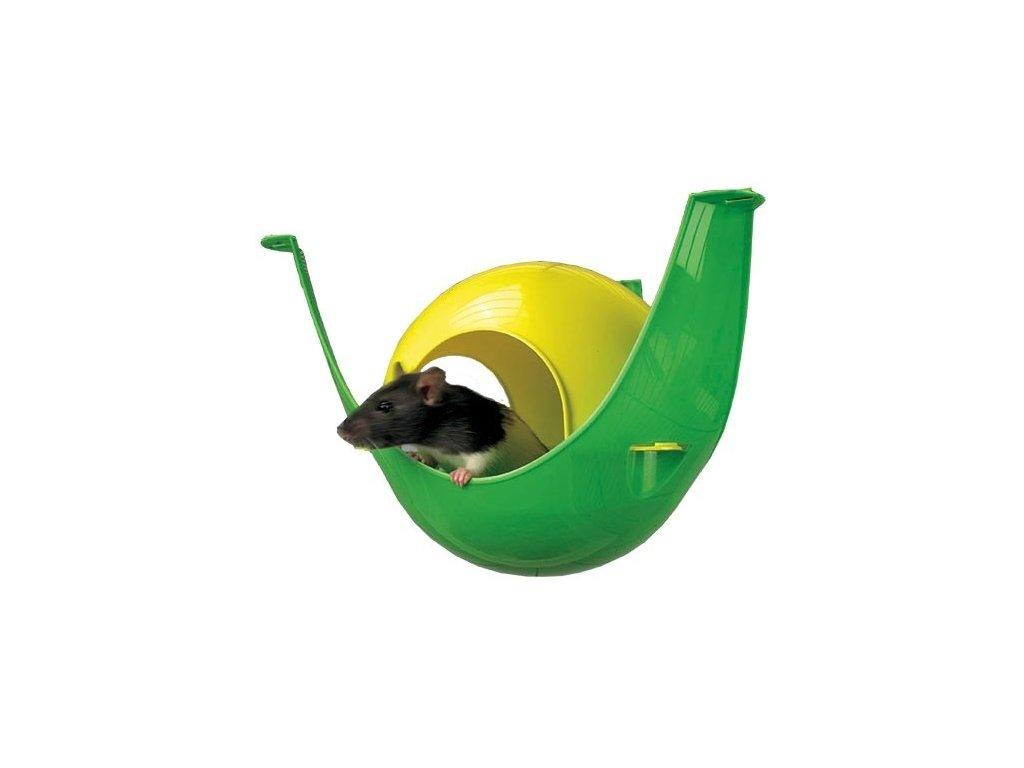 Savic Sputnik plastový domek 21,5 x 21,5 x 12,5 cm  sleva 2% při registraci