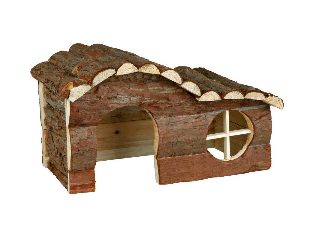 Dřevěný dům HANNA pro králíka 43x22x28cm TRIXIE