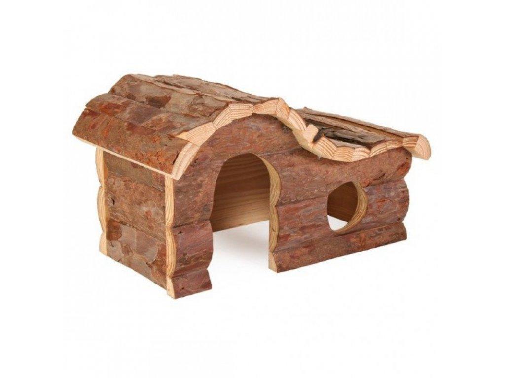 Dřevěný dům HANNA pro křečka 26x16x15cm TRIXIE