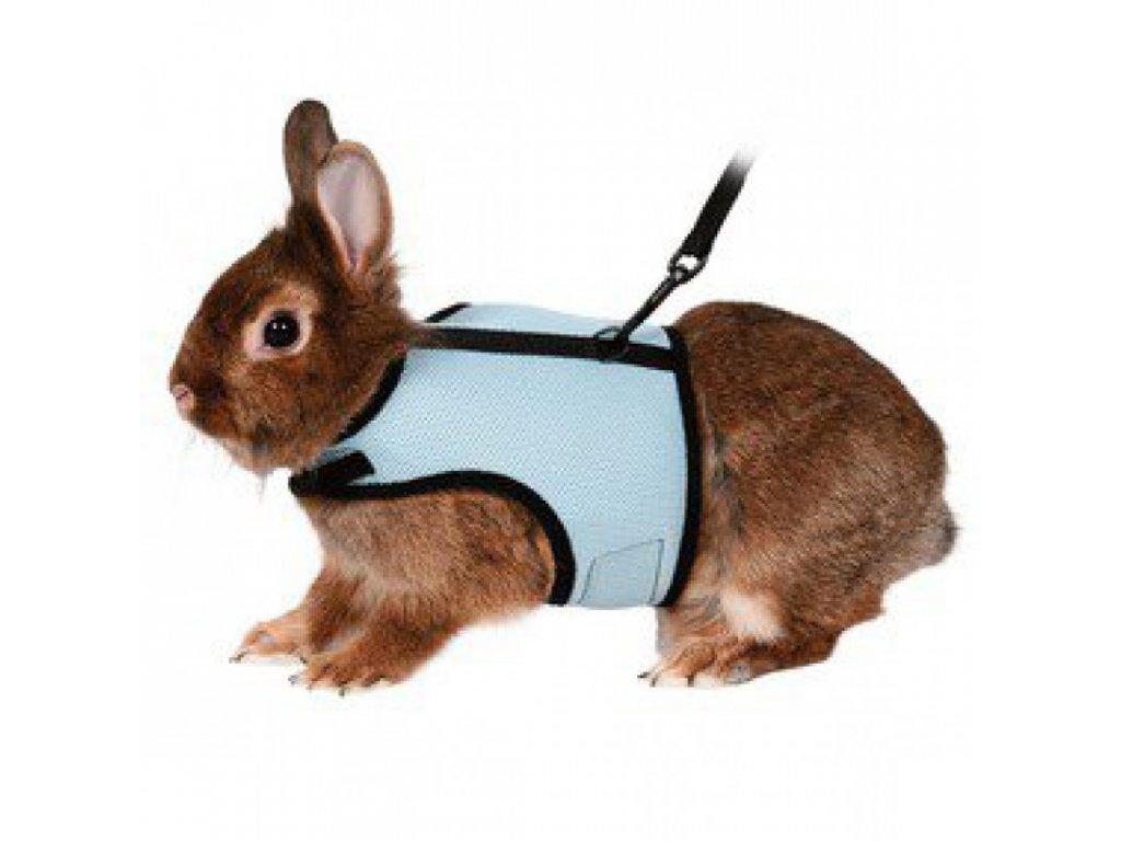 Postroj VESTA s vodítkem pro králíka 25-32cm