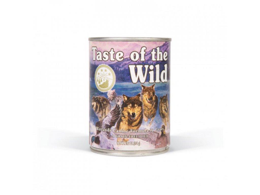 Taste of the Wild konzerva Wetlands Wild Fowl 390g