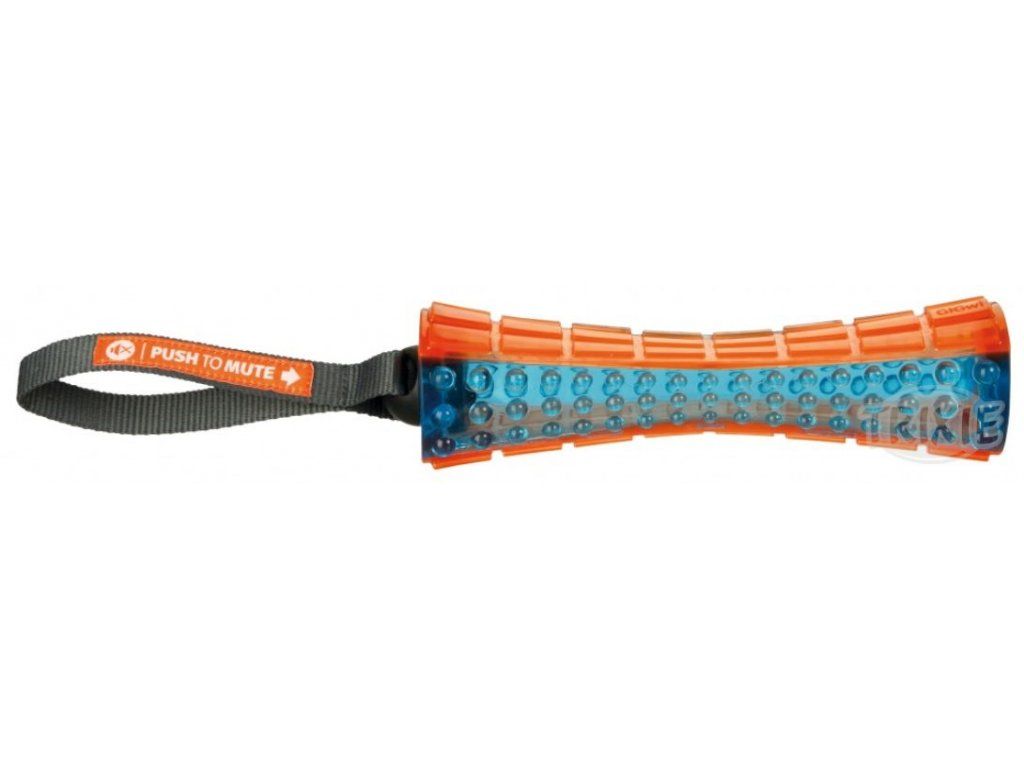 TPR termoplastová tyč s poutkem, 20 cm/35 cm oranž/modrá