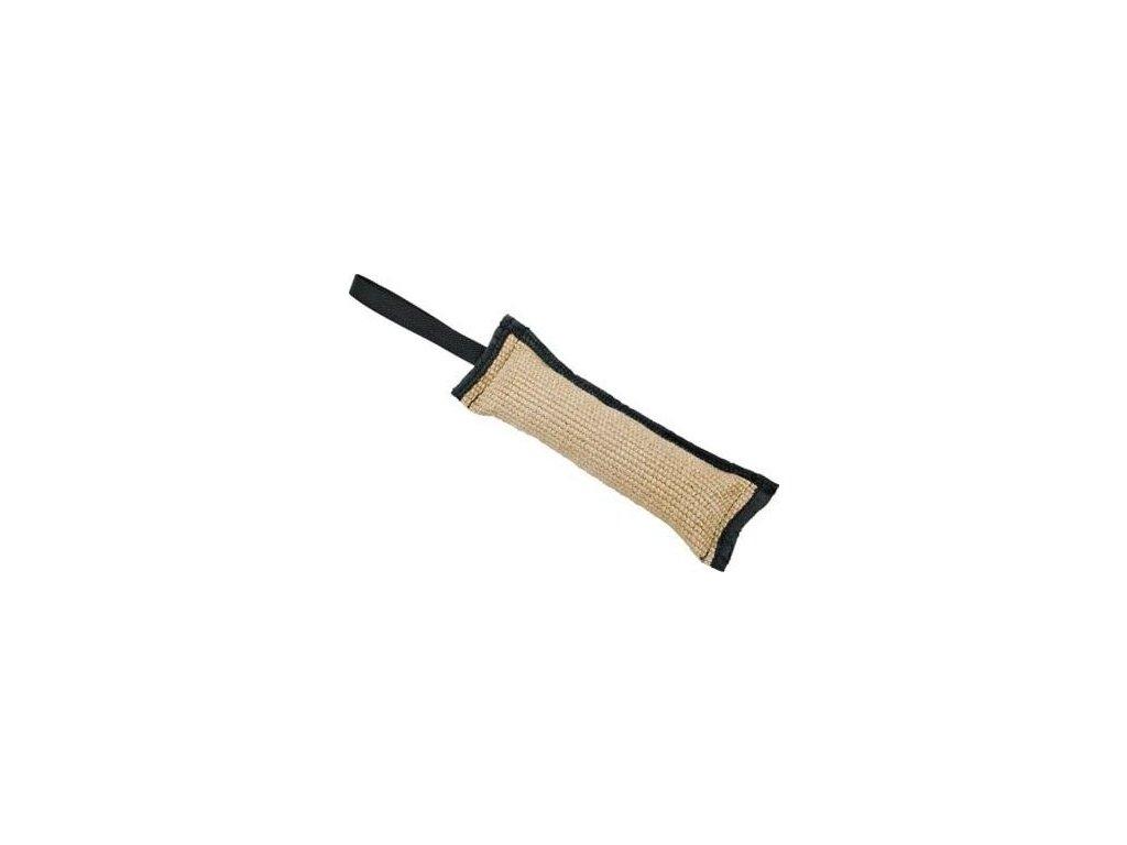 Pešek - juta, jednostranný 30x 5 cm šitý